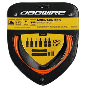 Jagwire Mountain Pro Brake Cable Kit, orange